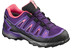 Salomon X-Ultra GTX Shoes Juniors cosmic purple/rain purple/madder pink